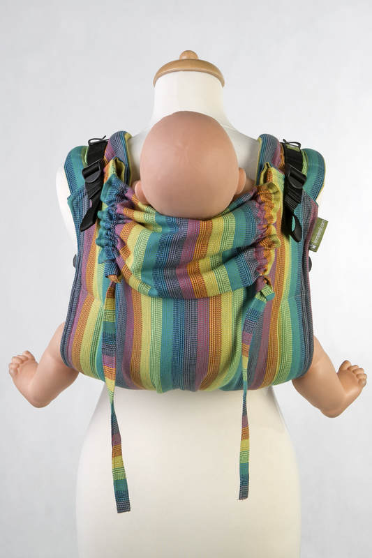 Lenny Buckle Onbuhimo, toddler size, broken-twill weave (100% cotton) - Wrap conversion from GAIA #babywearing