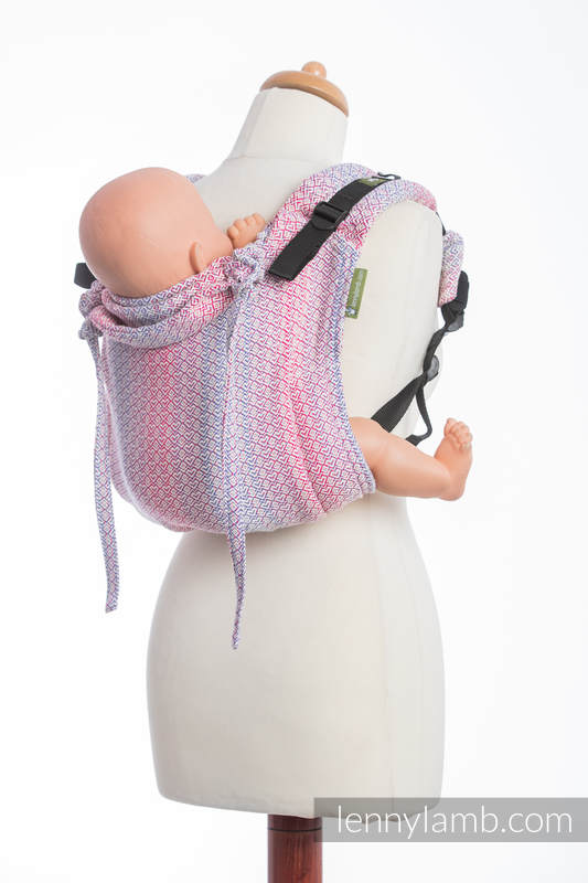 Lenny Buckle Onbuhimo, toddler size, jacquard weave (100% cotton) - Wrap conversion from LITTLE LOVE HAZE #babywearing