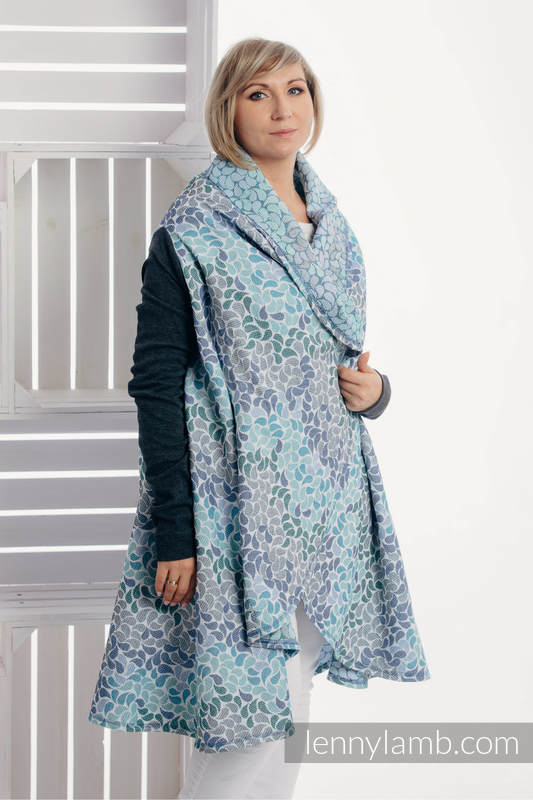 Long Cardigan - plus size - Colors of Heaven #babywearing