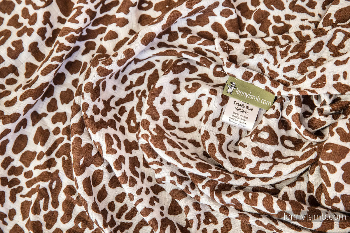 Muslin Square Set - CHEETAH BROWN & WHITE, GIRAFFE BROWN & CREAM, ZEBRA NAVY BLUE & WHITE #babywearing