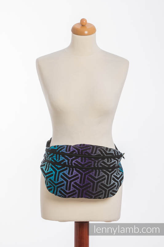 Waist Bag made of woven fabric, size large (100% cotton) - TRINITY COSMOS #babywearing