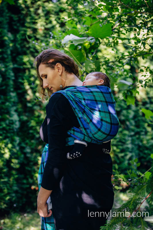 Baby Sling, Twill Weave, 100% cotton,  COUNTRYSIDE PLAID - size XS #babywearing