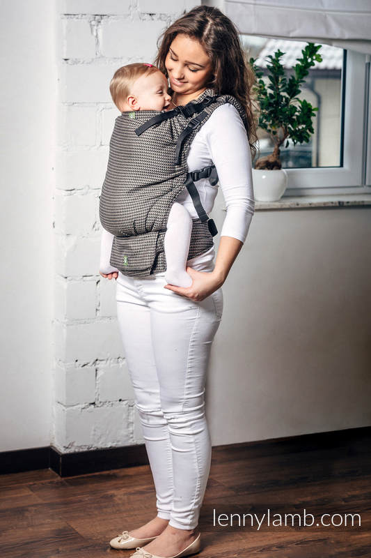 LennyUp Carrier, Standard Size, tessera weave 100% cotton - wrap conversion from BASIC LINE MOOKAITE #babywearing