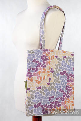 Shopping bag made of wrap fabric (100% cotton) - COLORS OF LIFE (grade B)