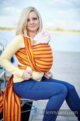 Baby Sling, Diamond Weave, 100% cotton - Surya Diamond - size S (grade B)