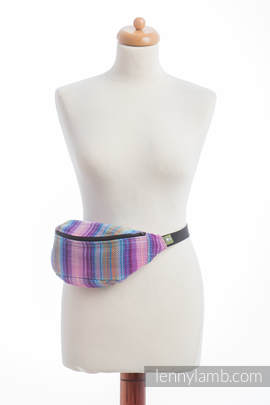 Waist Bag made of woven fabric, (100% cotton) - LITTLE HERRINGBONE TAMONEA
