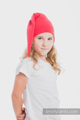 Elf Baby Hat (100% cotton) - size XL - Ruby