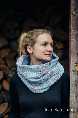 Snood Scarf with  Fleece - LITTLE LOVE - BREEZE & BLUE