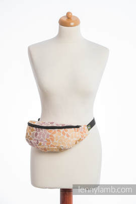 Waist Bag made of woven fabric, (100% cotton) - COLORS OF FALL