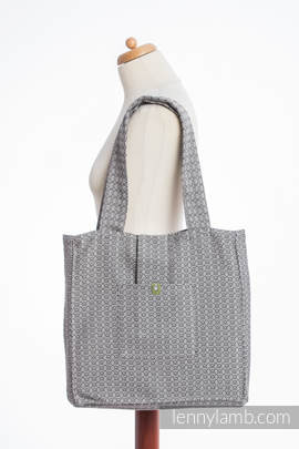 Shoulder bag made of wrap fabric (100% cotton) - LITTLE LOVE - MYSTERY - standard size 37cmx37cm