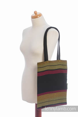 Shopping bag made of wrap fabric (100% cotton) - MOULIN - ARDENT