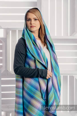 Long Cardigan - plus size - Little Herringbone Petrea