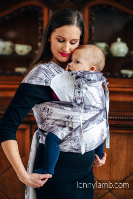 WRAP-TAI carrier Toddler with hood/ jacquard twill / 100% cotton / GALLOP