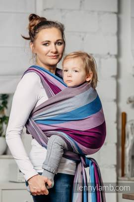 Baby Sling, Diamond Weave, 100% cotton - Norwegian Diamond - size XL