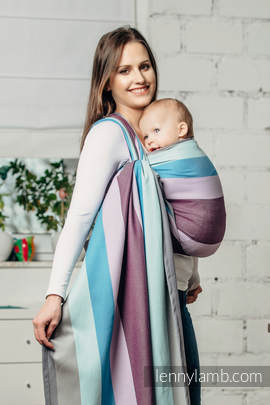 Baby Sling, Diamond Weave, 100% cotton - Icelandic Diamond - size XL