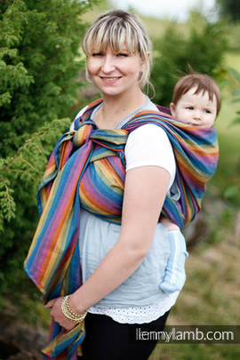 Baby Sling, Broken Twill Weave, 100% cotton - PARADISO COTTON - size M (grade B)