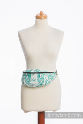 Waist Bag made of woven fabric, (100% cotton) - MERMAID POND 2.0