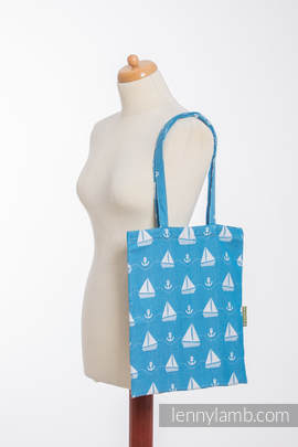 Shopping bag made of wrap fabric (100% cotton) - HOLIDAY CRUISE (grade B)