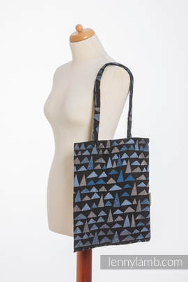 Shopping bag made of wrap fabric (100% cotton) - EAGLES' STONES (grade B)