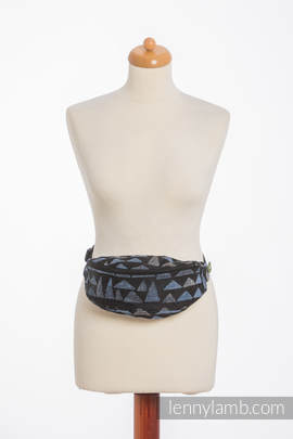 Waist Bag made of woven fabric, (100% cotton) - EAGLES' STONES