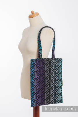 Shopping bag made of wrap fabric (100% cotton) - TRINITY COSMOS