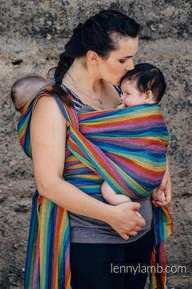 Baby Sling, Broken Twill Weave, 100% cotton - PARADISO COTTON - size S