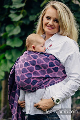 Ringsling, Jacquard Weave (100% cotton) - JOYFUL TIME WITH YOU
