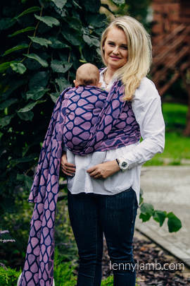 Baby Wrap, Jacquard Weave (100% cotton) - JOYFUL TIME WITH YOU - size L