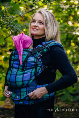 LennyUp Carrier, Standard Size, twill weave 100% cotton - wrap conversion from COUNTRYSIDE PLAID