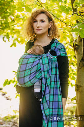 Ring Sling - 100% Cotton - Twill Weave - COUNTRYSIDE PLAID (grade B)