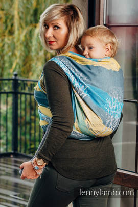 Baby Wrap, Jacquard Weave (100% cotton) - WANDER - size S