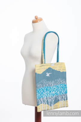 Shopping bag made of wrap fabric (100% cotton) - WANDER
