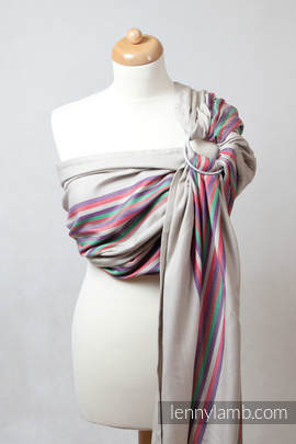 Ring Sling - 100% Cotton - Broken Twill Weave - with gathered shoulder - Sand Valley (grade B)
