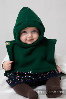 Turtleneck for two - bottle green