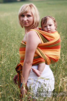 Baby Sling, Broken Twill Weave (100% cotton) - SUMMER - size XS