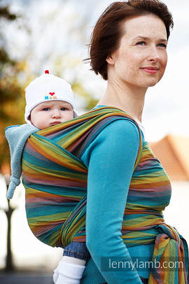 Baby Sling, Broken Twill Weave (100% cotton) - GAIA - size XS