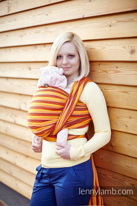 Baby Sling, Diamond Weave, 100% cotton - Surya Diamond - size XL